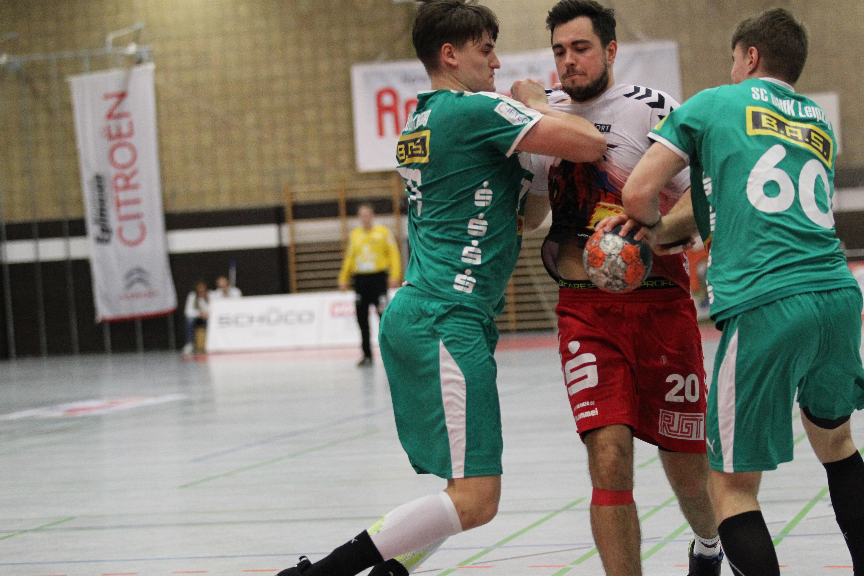 12. Spieltag: HSC ROTMILANE – SC DHFK Leipzig II 27:35 (12:18)