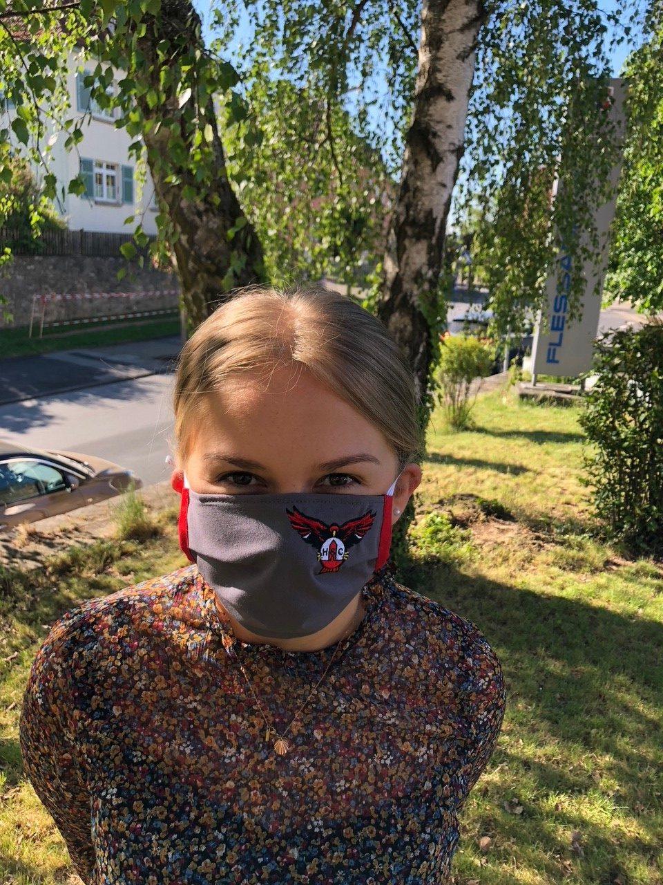 Rotmilan-Masken können bestellt werden