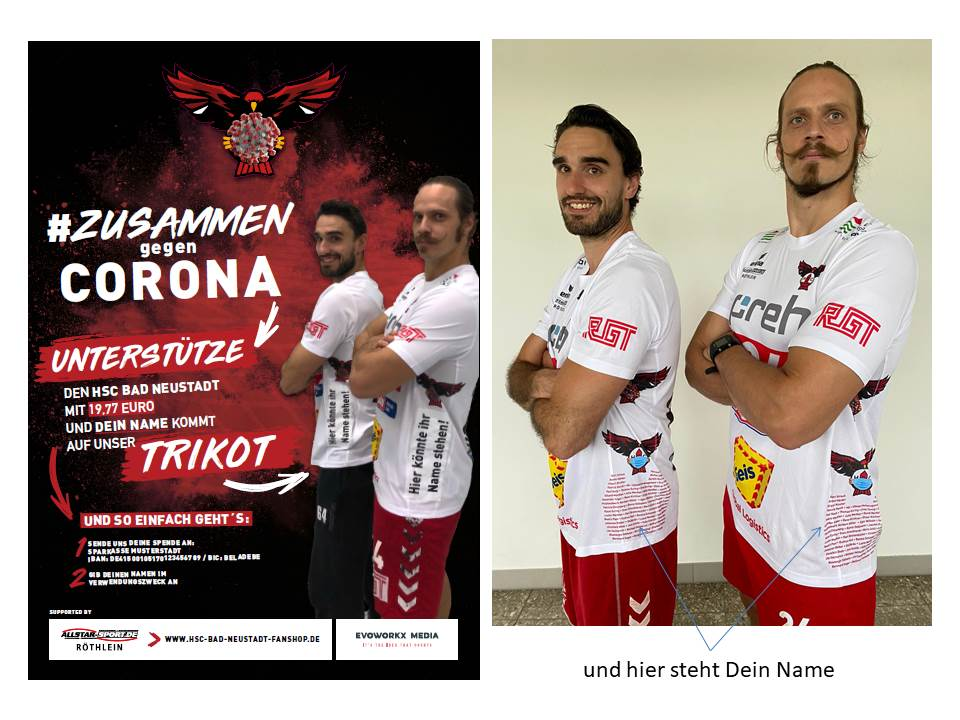 Trikot – #zusammen gegen Corona