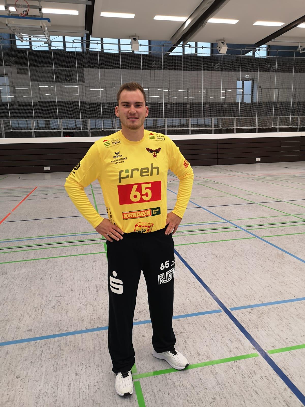 Ein halbes Jahr Pionierarbeit bei den Jungmilanen – Sebastian Kirschke als erster FSJler beim HSC Bad Neustadt