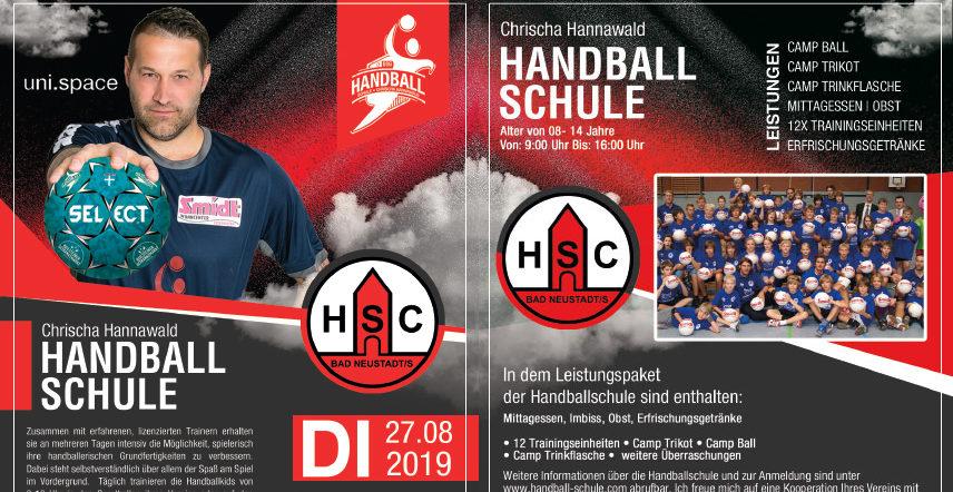 HSC Bad Neustadt – Sommercamp mit Chrischa Hannawald