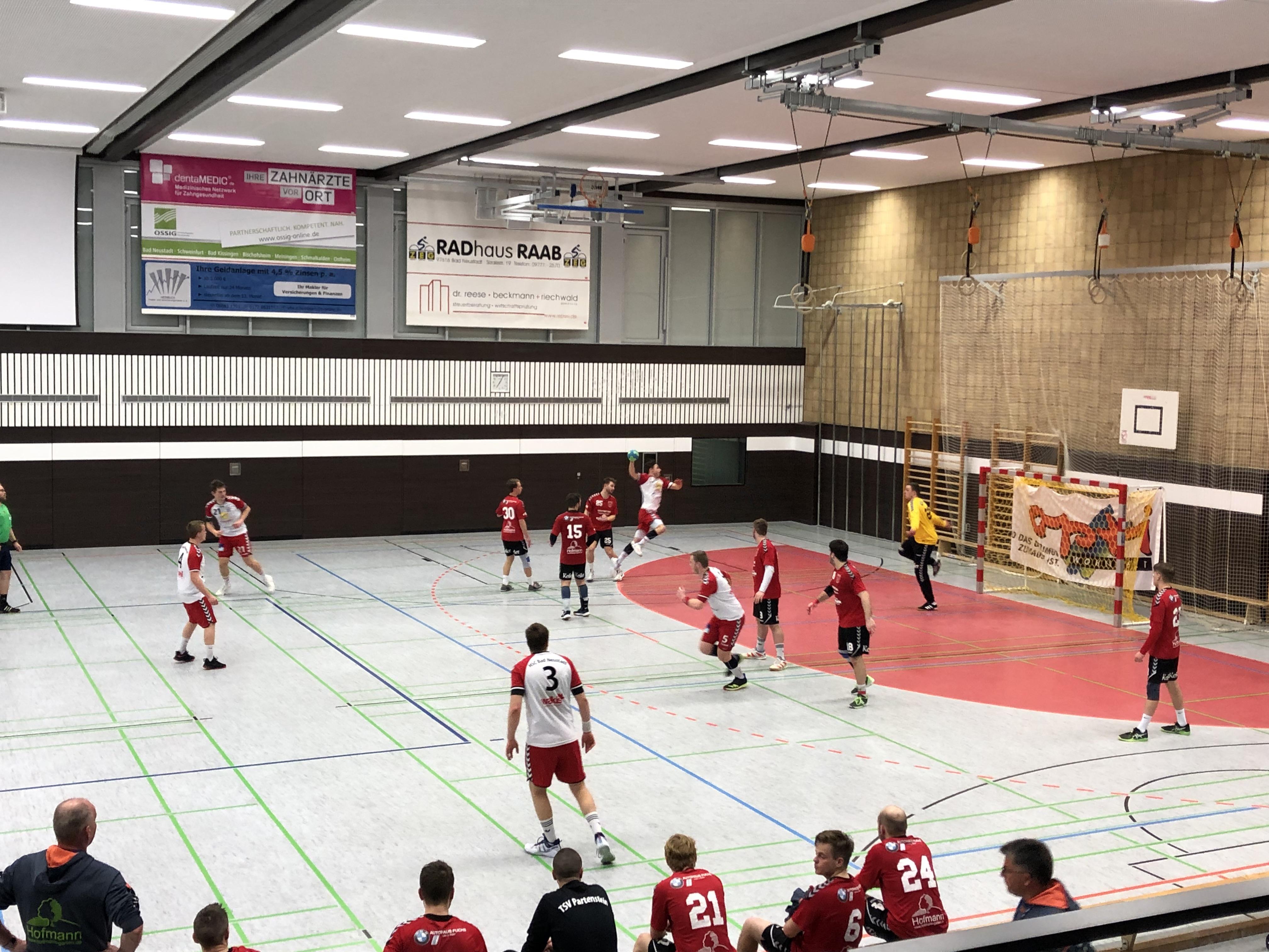 Bericht: HSC II – Partenstein