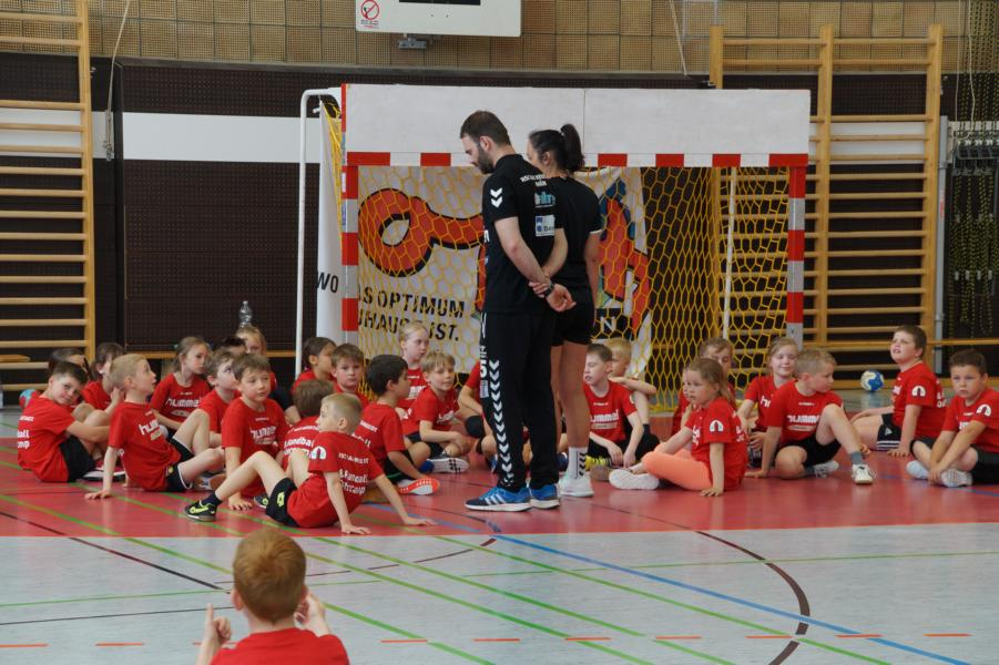 "Großes Jugendtraining mit den ""Rotmilanen"" am 10.2."