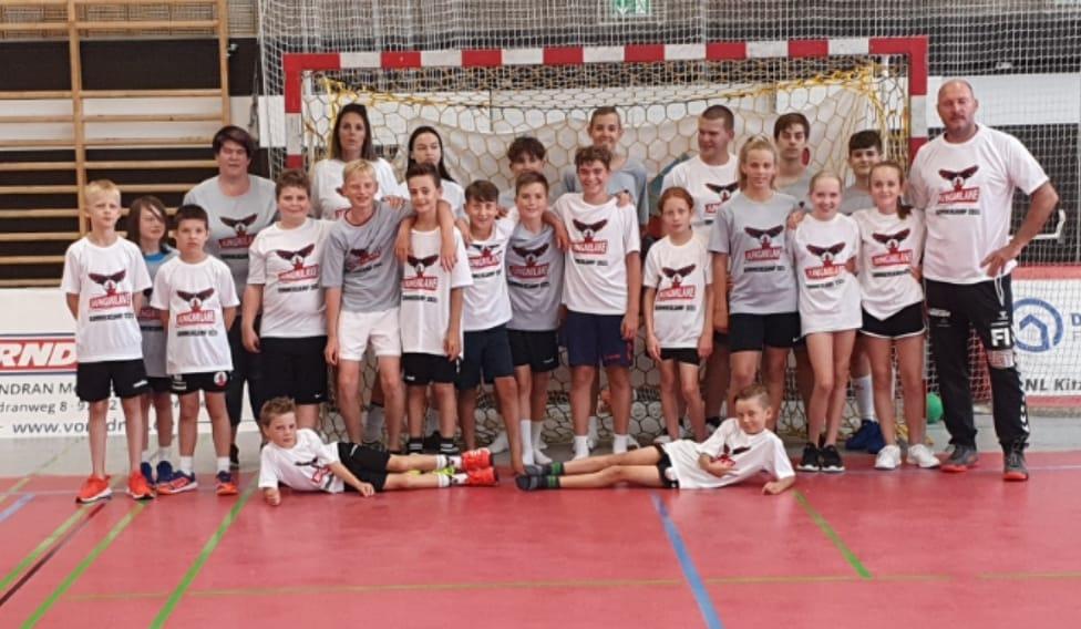 Jungmilane Sommercamp 2021: Handball – Spaß – Handball